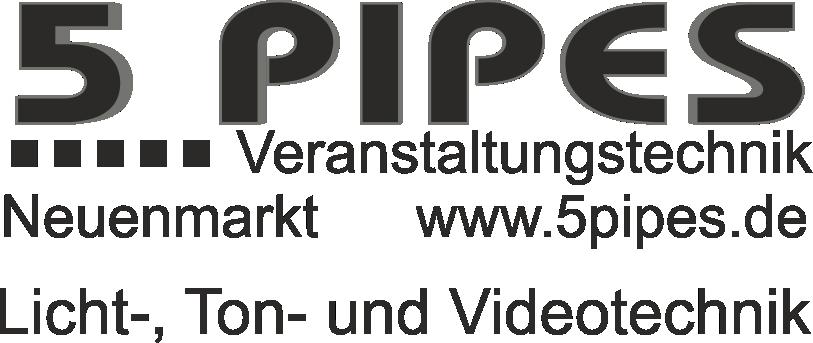 logo 3d 5 Pipes